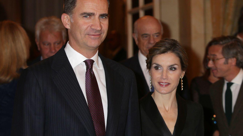 Foto: Los Reyes durante la entrega del Premio Francisco Cerecedo (Gtres)