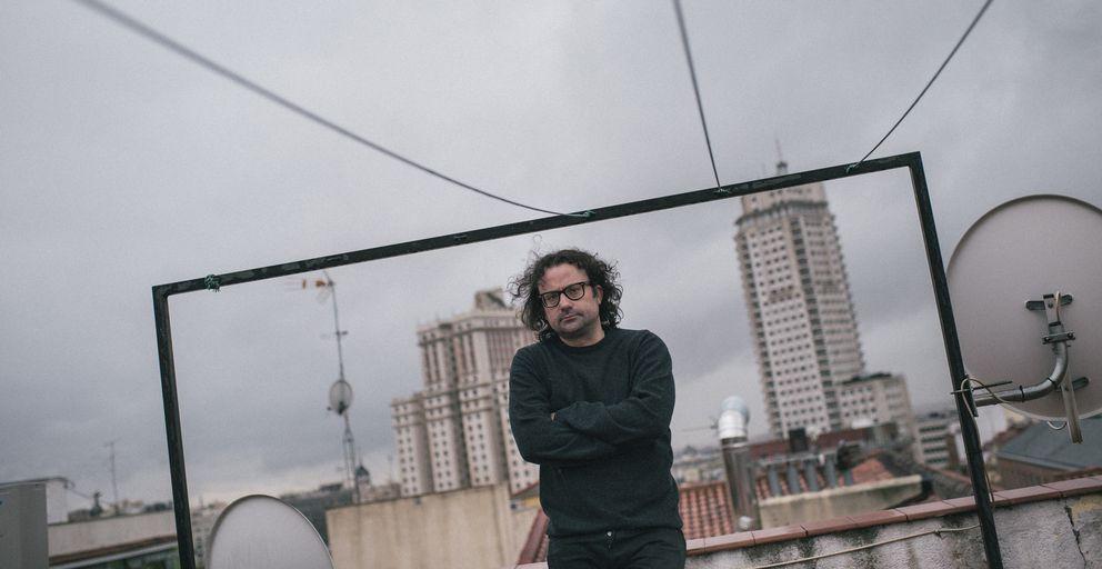 Foto: David García Aristegui, autor del libro '¿Por qué Marx no habló de Copyright?' (Enclave). (PABLO LÓPEZ LEARTE)