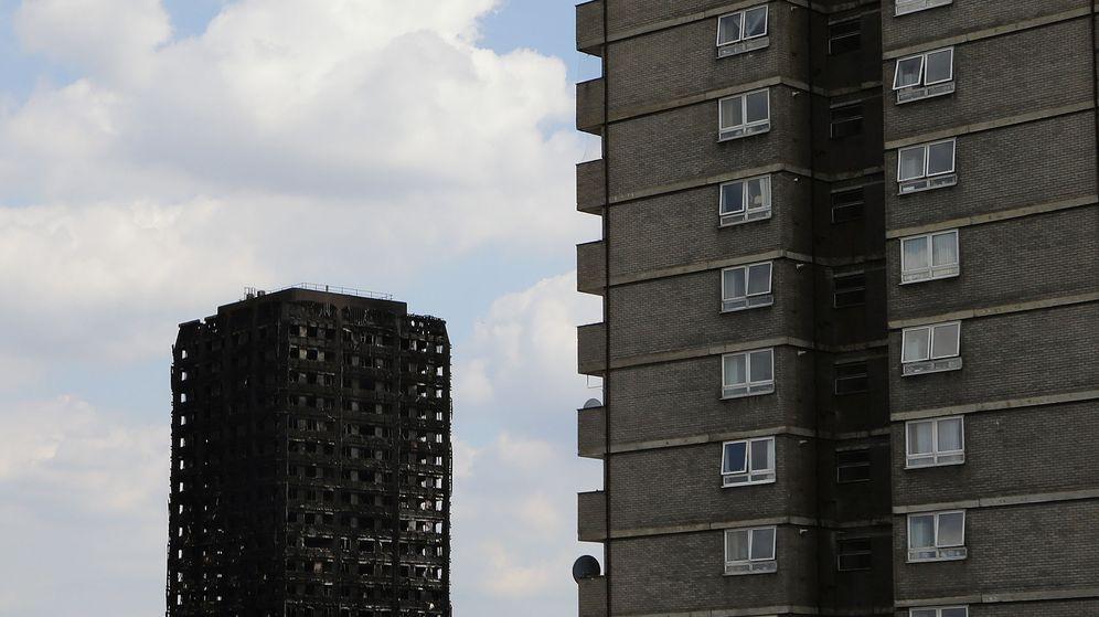 Foto: El edificio Grenfell que se incendió el miércoles. (Reuters)