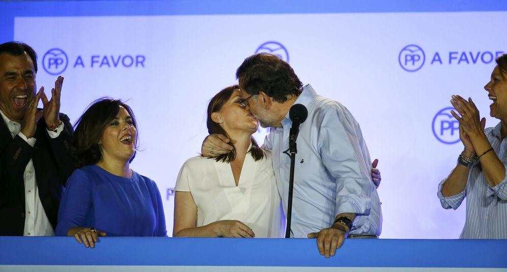 Foto: El Partido Popular celebra su victoria electoral. (Reuters)