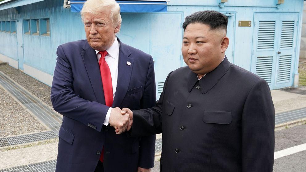 Trump se encuentra con Kim en la frontera intercoreana por primera vez en la historia