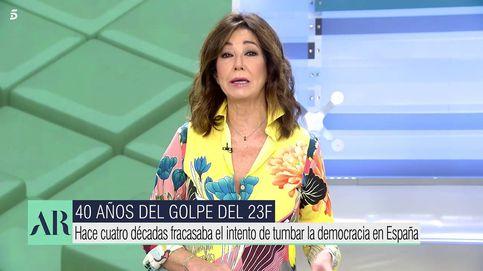 Ana Rosa Quintana afea el desplante de los independentistas al rey en pleno 23-F