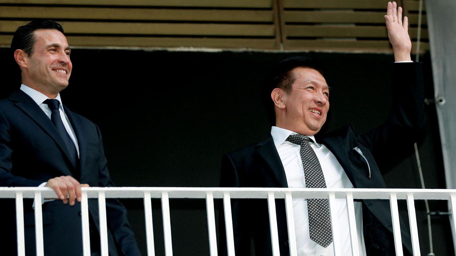 Foto: Peter Lim y Amadeo Salvo ya no congenian como hace unos meses (EFE)
