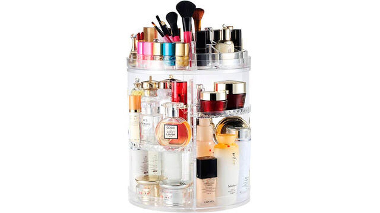 Organizador de maquillaje Boxall multifunción giratorio