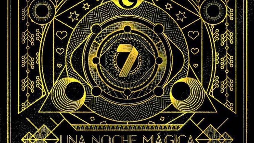 Foto: Logotipo de 'Una noche mágica'.