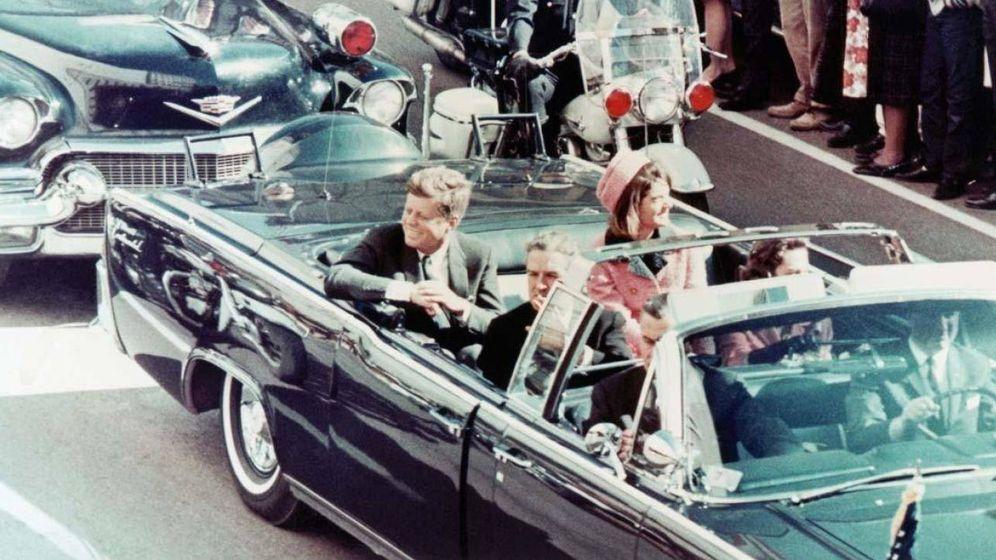 Foto: Kennedy recibió tres disparos en un descapotable en Dallas. (Corbis)