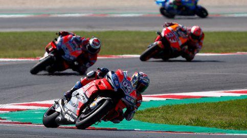 Dovizioso gana en San Marino y Márquez es segundo tras la caída de Lorenzo