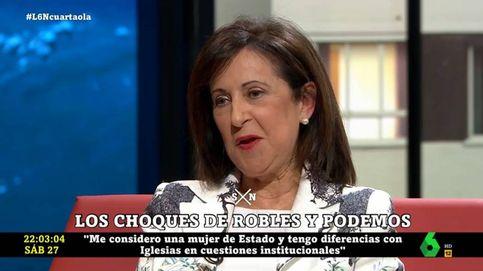 Un líder de Podemos ataca a La Sexta por su entrevista a Margarita Robles