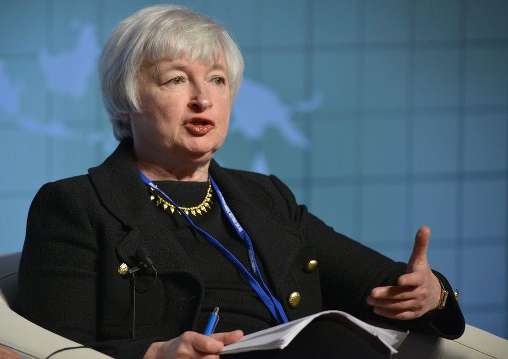 Foto: La candidata oficial para ocupar el cargo de presidente de la Reserva Federal, Janet Yellen. (EFE)