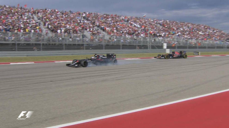 Hamilton gana en EEUU y Alonso, quinto, se come en la última vuelta a Sainz: ¡Yihaaaa!