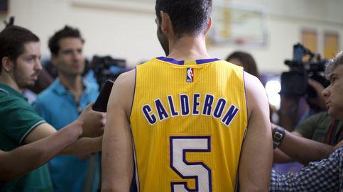 Mandan Calderón y Huertas, pero los Lakers hablan español por  Hawkers