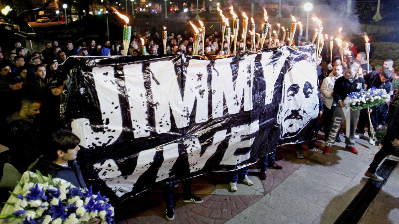 Marcha de la asociación Jimmy vive con nos. (EFE)