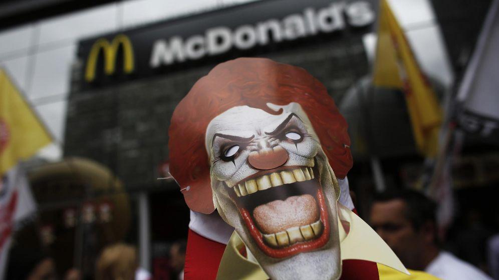 Foto: Ronald McDonald, relegado a un segundo plano por la moda de los payasos asesinos (Reuters)