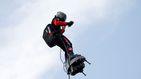El 'soldado volador de Macron' cae al agua en su intento de cruzar el Canal de la Mancha