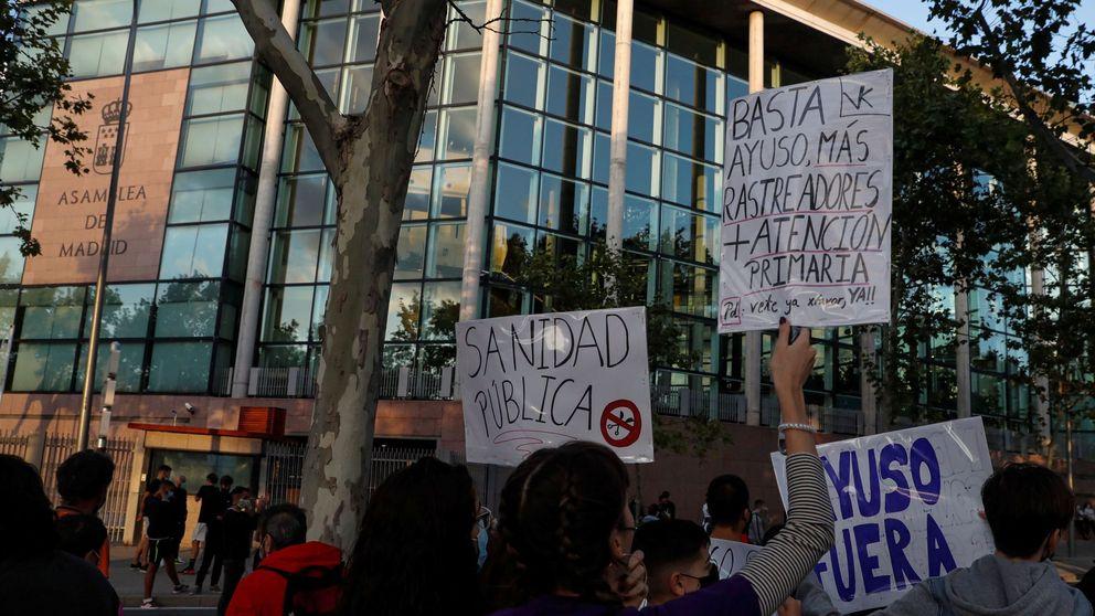 Tres detenidos y 6 heridos en una carga policial contra una protesta en Vallecas