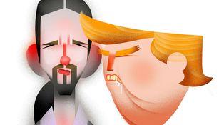 La 'trumpmanía' de Pablo Iglesias