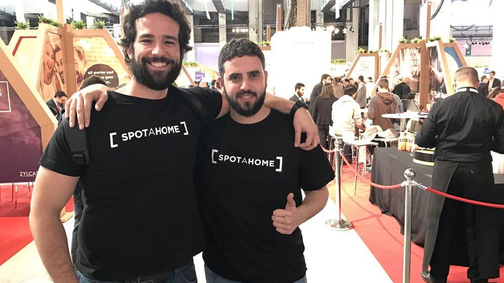 Foto: Alejandro Artacho y Daniel Tallón, CEO y CMO de Spotahome. (J. E.)