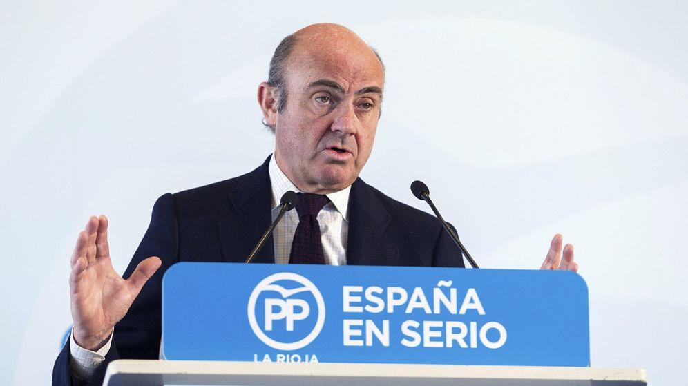 Foto: El ministro de Economía en funciones, Luis de Guindos (Efe)