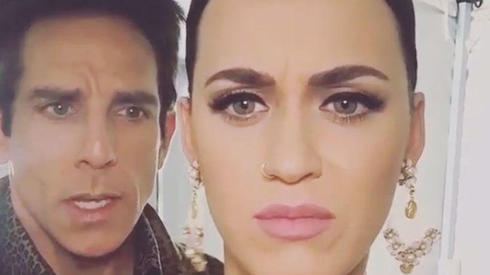El divertido vídeo casero de Katy Perry y Ben Stiller