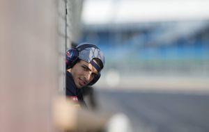El clavado de Sainz Jr desde el trampolín de la Fórmula 1