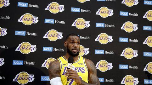 Conferencia de prensa de Lebron y los Lakers