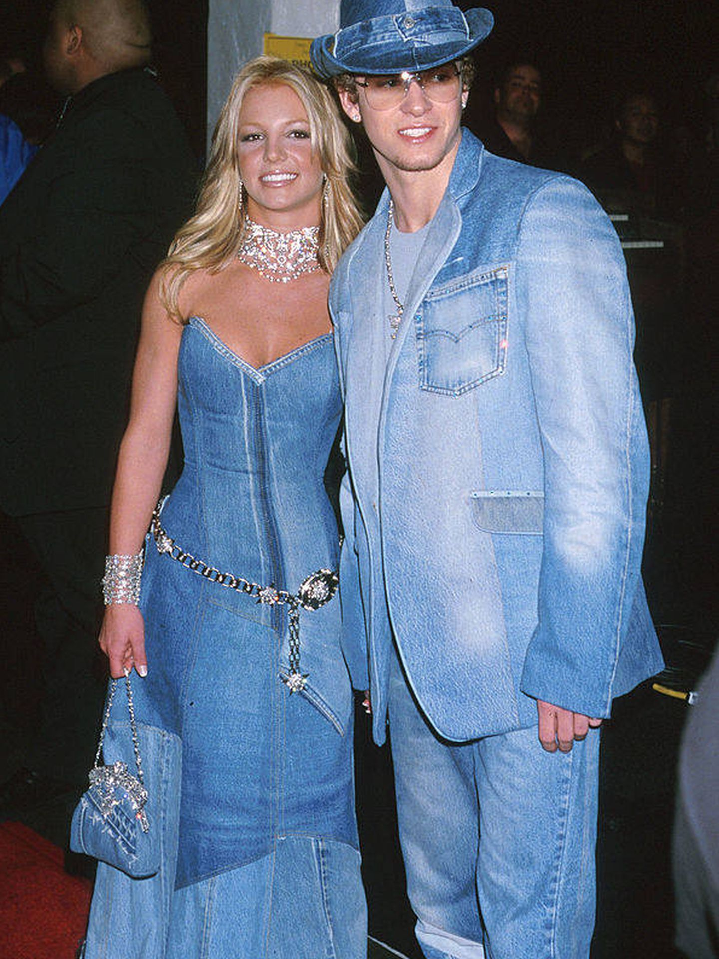 Britney Spears y Justin Timberlake.  (Getty)