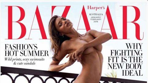 Miranda Kerr, censurada en su país por un desnudo en 'Harper's Bazaar'
