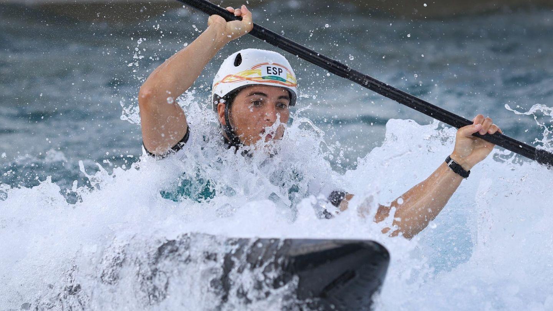 Maialen Chourraut, en semifinales. (EFE)
