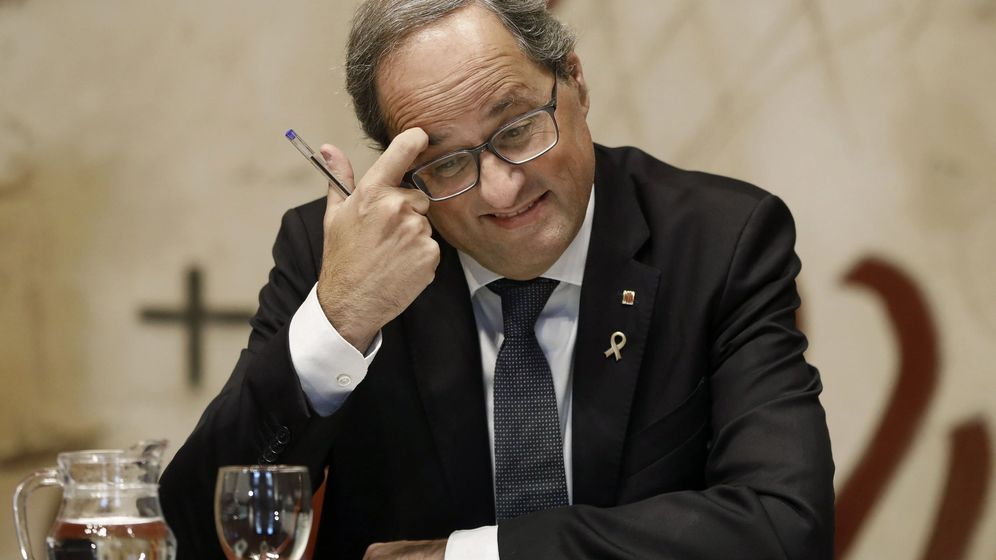 Foto: El presidente de la Generaliat, Quim Torra. (EFE)