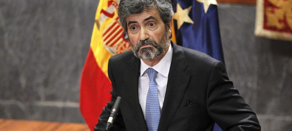 Foto: El presidente del Consejo General del Poder Judicial y del Tribunal Supremo, Carlos Lesmes. (EFE)