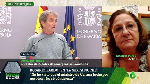 Rosario Pardo, sobre lo que ha dicho Fernando Simón: Menuda chorrada