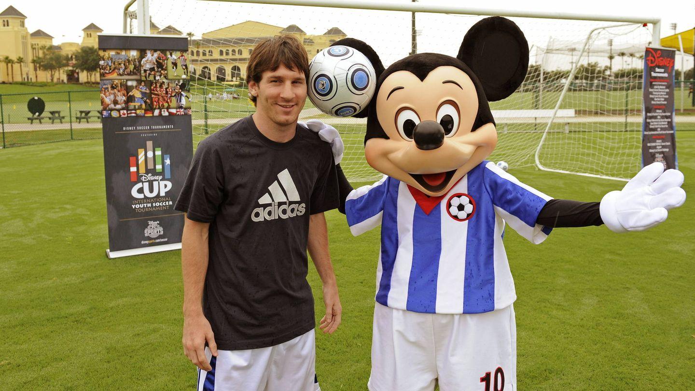 Leo Messi, en 2009 en Florida. (EFE)