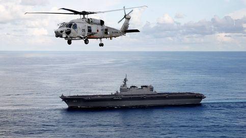 Japón estrena su buque de guerra más grande desde la II Guerra Mundial