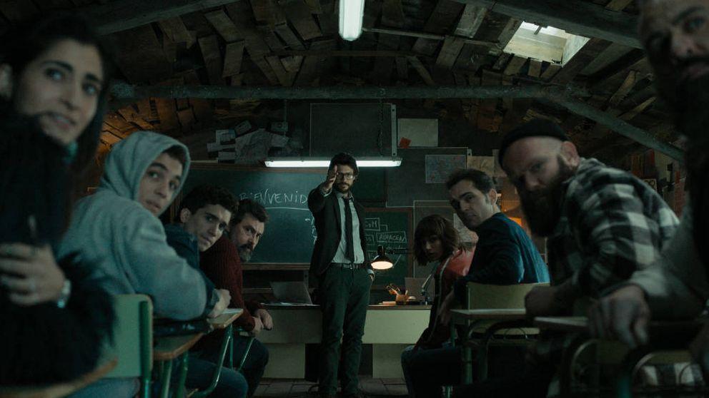 'La casa de papel' sube el listón con un impecable, y cinematográfico, estreno