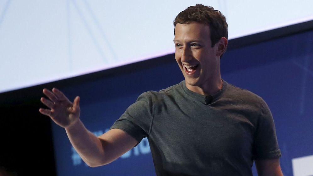 Foto: Mark Zuckerberg en su intervención esta tarde en el Mobile World Congress. (Foto: Reuters)