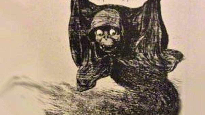 El cólera en una alegoría de la prensa barcelonesa de la época.