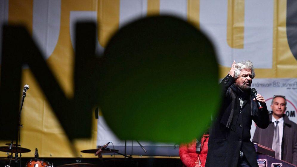 Foto: Según los sondeos a pie de urna ganaría el No en el referéndum de Italia