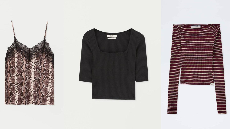 Las tres camisetas de rebajas, aún en la web de la tienda, solo valen 1,99 euros. (Cortesía).