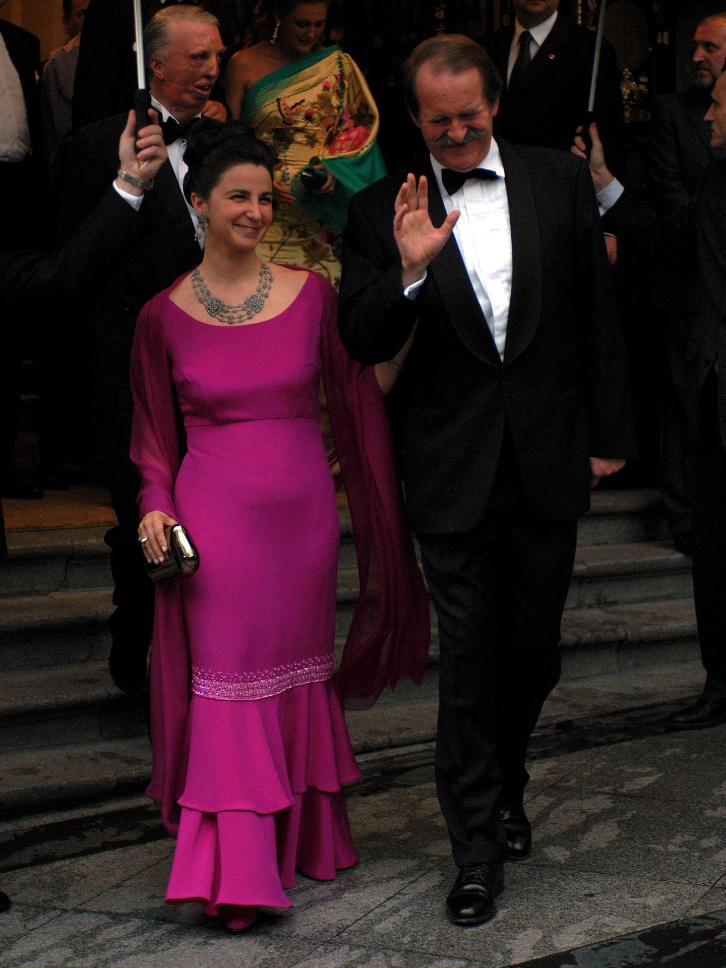 En Madrid, para asistir a la boda de los reyes Felipe y Letizia. (Cordon Press)
