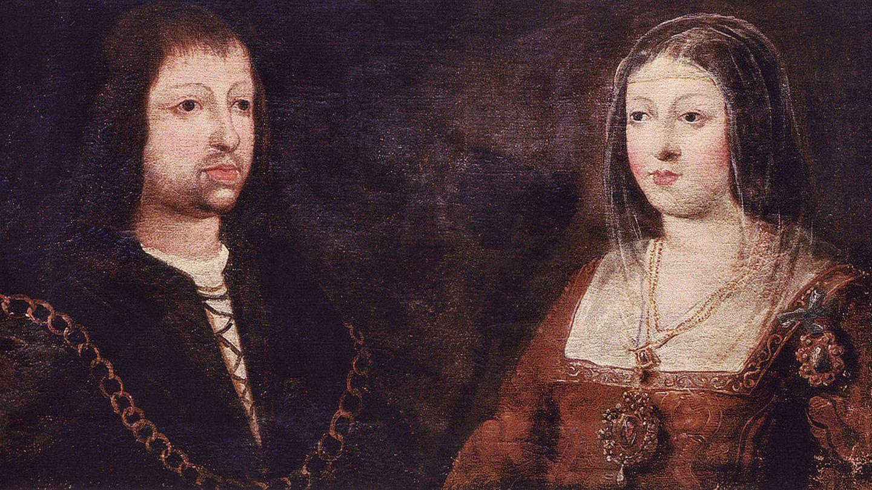 Los Reyes Católicos, Isabel y Fernando.