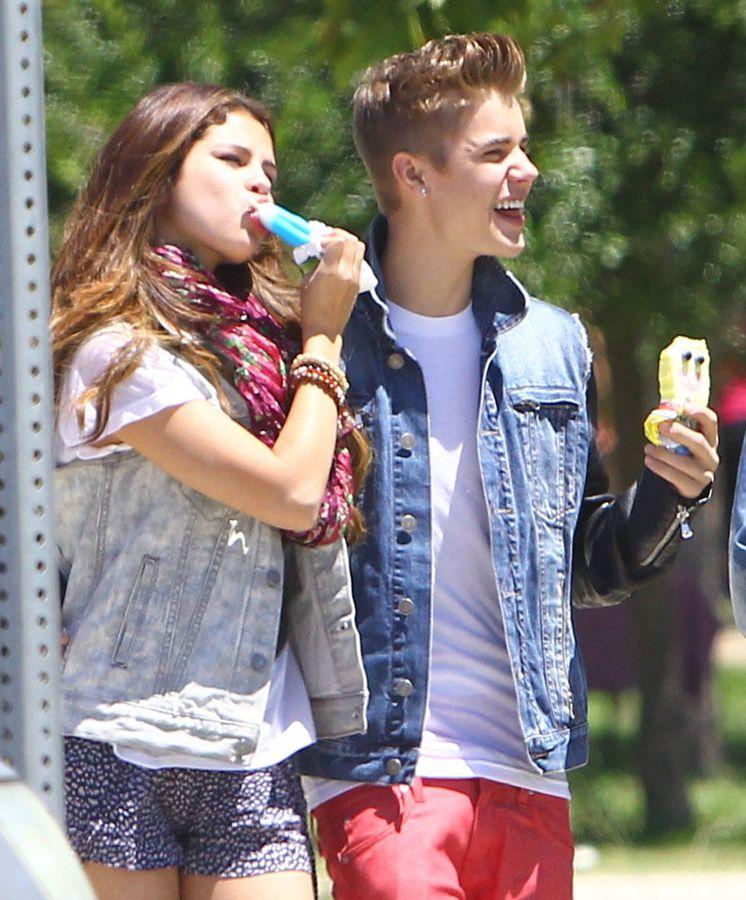 Foto: Justin Bieber y Selena Gómez en una imagen de archivo. (Gtres)