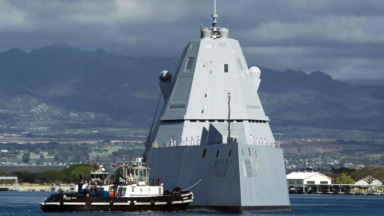 El radical diseño de los DDG 1000. (US Navy)