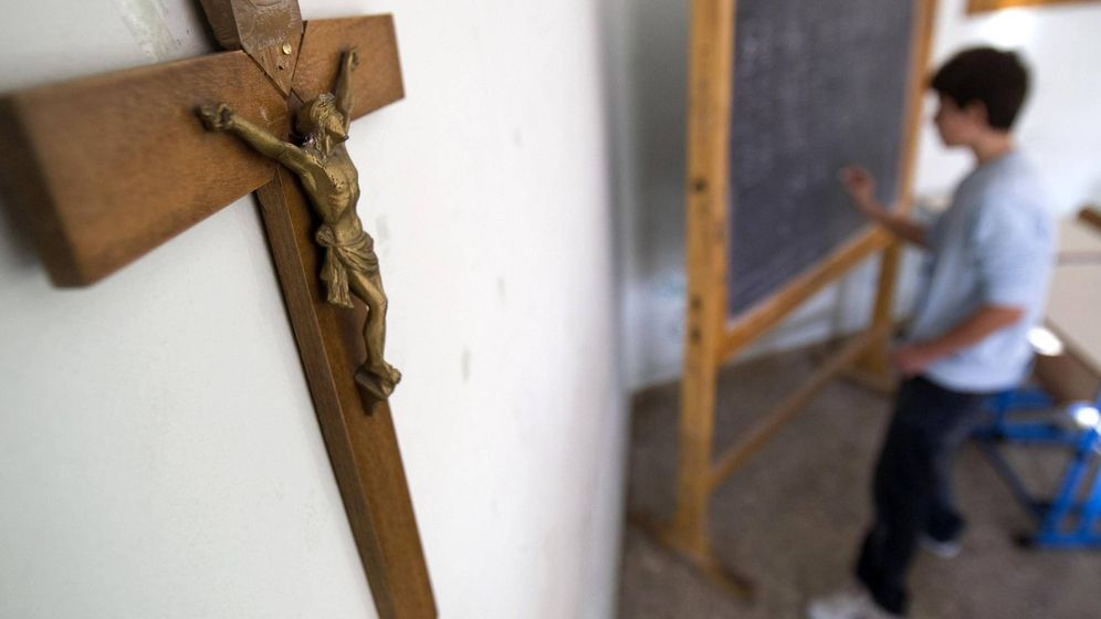 Foto: Clase de religión. (Reuters)