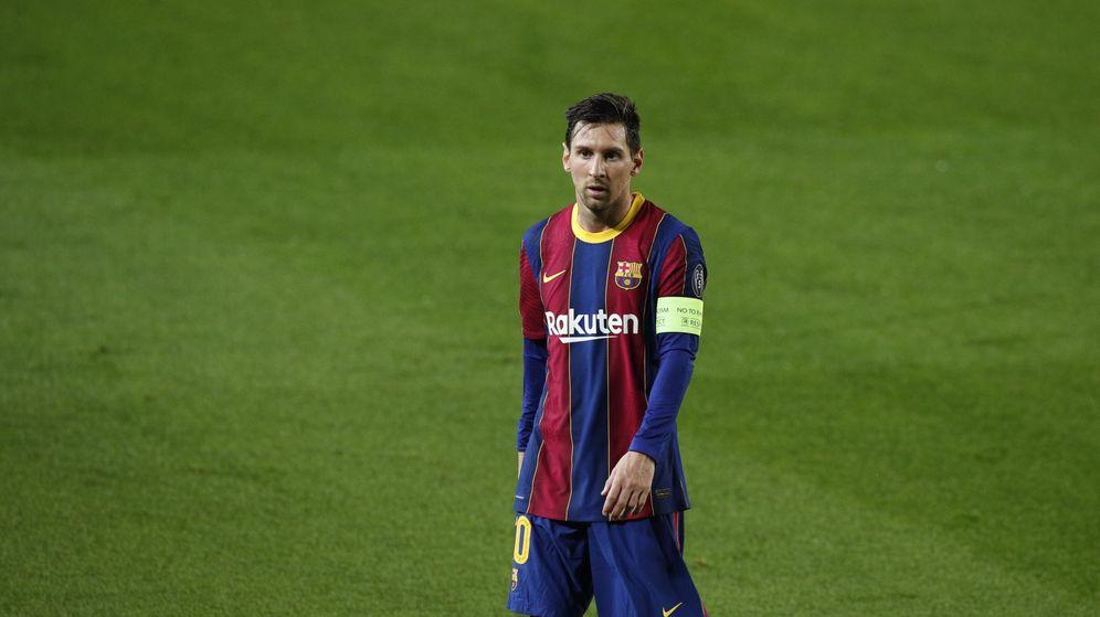 Foto: Leo Messi, capitán del Barcelona, en el último partido del equipo. (Reuters)
