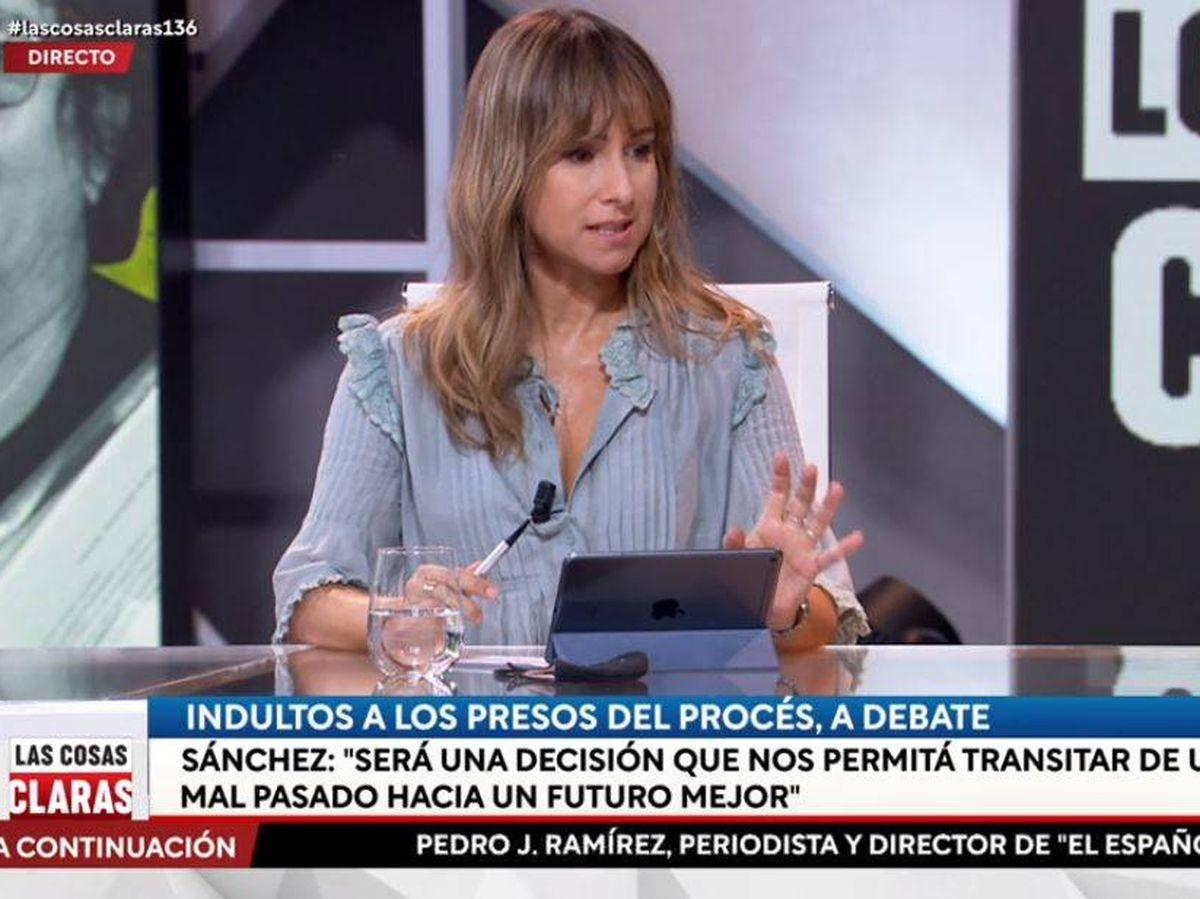 Foto: Ana Pardo de Vera, colaboradora de 'Las cosas claras'. (RTVE)