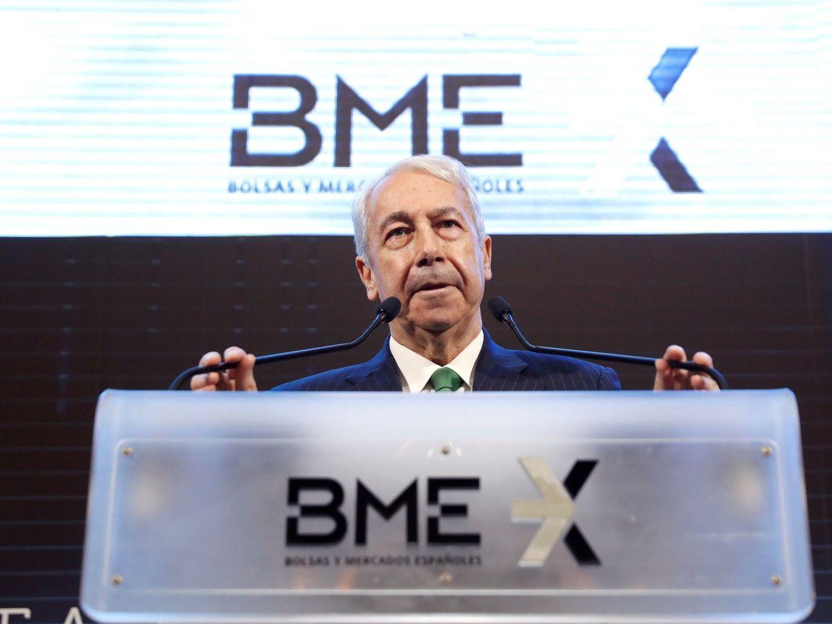 Foto: El presidente de Bolsas y Mercados Españoles (BME), Antonio Zoido