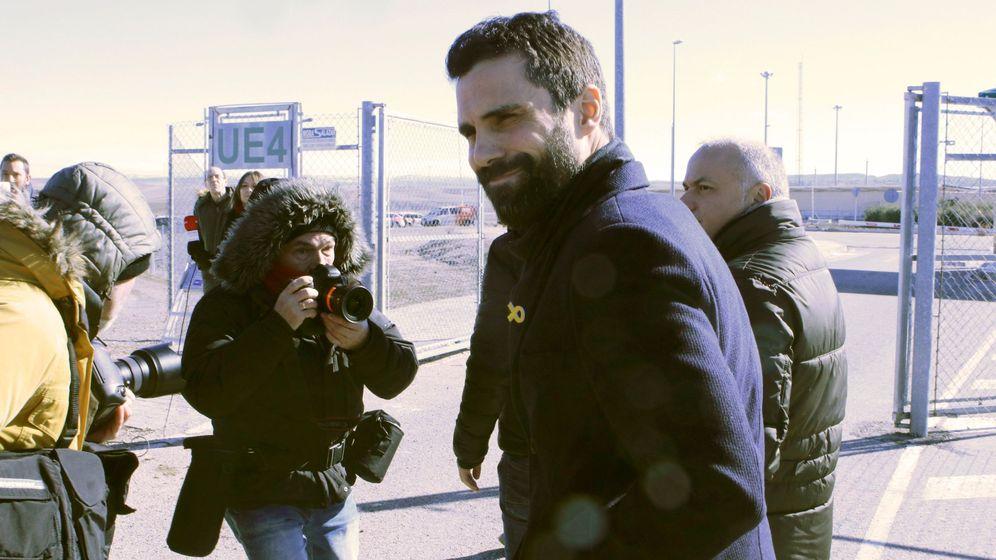 Foto: Torrent se reúne con Junqueras en la cárcel de Estremera. (EFE)