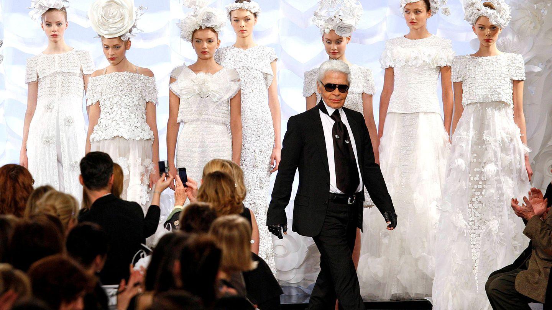 Karl Lagerfeld. (Reuters)