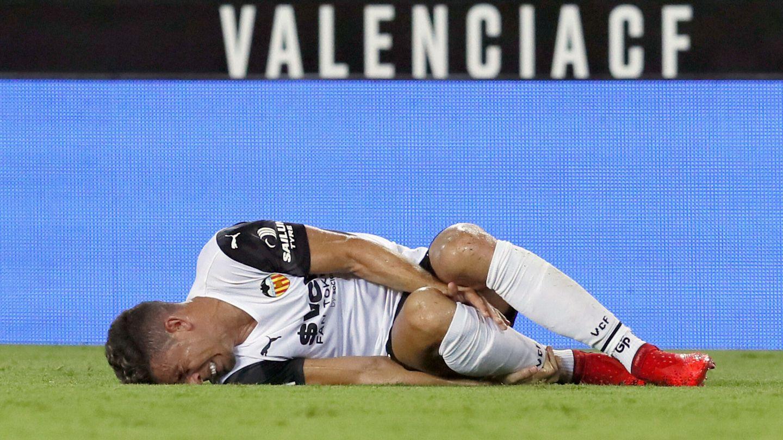 El Valencia de José Bordalás es el segundo equipo de las grandes ligas que más faltas por partido realiza (18.7). (EFE)