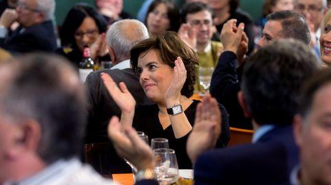 Santamaría destaca que Rajoy es quien ha descabezado a ERC y JxCAT